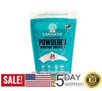 Lakanto Monkfruit Sweetener, 2:1 Powdered Sugar Substitute, Keto, Non-GMO 16 oz