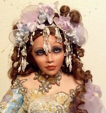 ARIELLE 28 Inch Porcelain Doll By RUSTIE - Exotic Beauty!