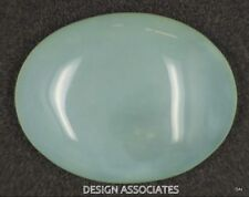 AQUAMARINE CABOCHON OVAL CUT 41.5 CARATS OUTSTANDING BLUE COLOR ALL NATURAL