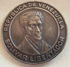 SMALL COIN-CONGRESO DE LA REPUBLICA VENEZUELA - BOLIVAR LIBERTADOR