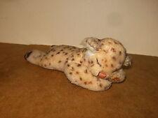 ancien / vintage - ?? STEIFF ?? Jeune Léopard dormant / sleeping young leopard