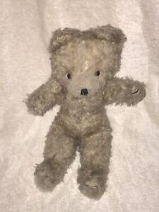 RETRO VINTAGE LIGHT BROWN TEDDY BEAR