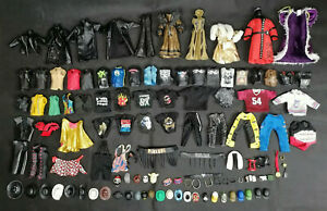 WWE Clothes Wearables Accessories for wrestling figures lot wwf/wcw/ecw