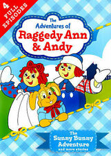 ** BRAND NEW ** Raggedy Ann & Andy - The Sunny Bunny Adventure (DVD, 2014)