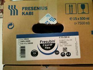 Fresubin® Original 2 kcal HP Fibre, Sondennahrung 15 x 500 ml Beutel 11/21