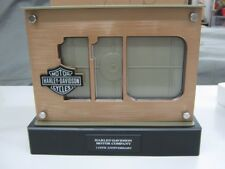 Harley Davidson 110TH Anniversary LED Lighted Double Sided Photo Picture Frame