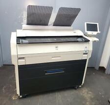 Konica Minolta Kip 7100 36 Wide Format Plotter Net Printer Copier Color Scanner