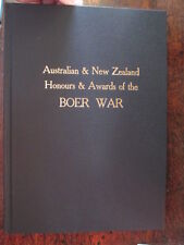 Boer War Australian NZ Honours Awards 500 Trooper Soldier Bios Military Book