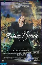 1991 Madame Bovary Original Movie Poster 27x40 Isabelle Huppert