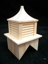 CUPOLA #7 roof miniature dollhouse wooden #2407 1pc 1/12 scale Houseworks