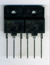 UN LOT DE 2 TRANSISTORS BU808 DFI -  DARLINGTON DE PUISSANCE HAUTE TENSION