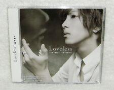 J-POP News Tomohisa Yamashita Loveless Taiwan CD +Bonus trks