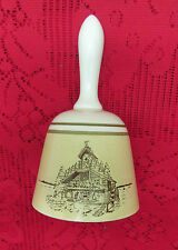 Collectible Stoneware Pottery Bell World'S Largest Cuckoo Clock Made In Japan