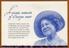Scotland Royal Bank, 20 pounds, 2000, P-361, Queen Mother, UNC > Folder