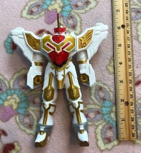 "Power Rangers Mystic Force Saint Kaiser Unicorn Megazord 7"" Figure RARE"