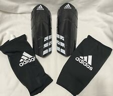 adidas Ever Pro Soccer Shin Guards With Sleeves CW5580. Youth Sz. Medium