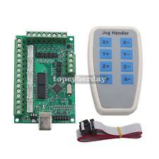 5 Axis MACH3 CNC Breakout Board 1000KHz USB Motion Control + Jog Handler