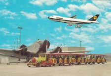 Markenlose Flugzeug & Flughafen Ansichtskarten ab 1945