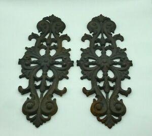 Antique Plate, Palmette Cast-Iron, Ornaments XIX ° Ème. Sold IN L'Unité.