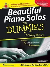 Beautiful Piano Solos for Dummies, Hal Leonard Corp., Good Book