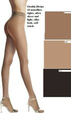 12 Pack Oroblu Divine 10 nanofibre tights, ultra sheer, silky look, soft touch