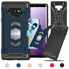 For Samsung S10 S9 S8 S7 Plus Note 9 8 Hybrid Megnetic Solt Fitted Case Cover