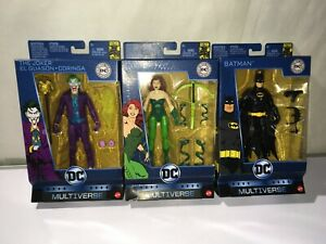 DC Multiverse  Batman- The Joker- Poison Ivy Batman 80th anniversary set of 3