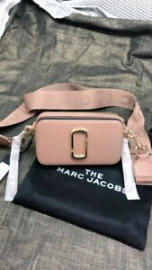 NWT Genuine Marc Jacobs THE SNAPSHOT DTM  Small Camera Bag sunkissed hot