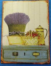 Reklame 1 Eisen Schild Lavendel Wandschild Einzelstück aus alten Beständen