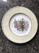 Wedgwood Sarah's Garden Viola Tricolor Salad Plate