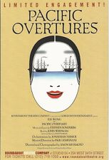 Stephen Sondheim's PACIFIC OVERTURES the first Broadway revival with B.D. WONG