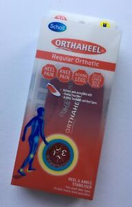 Scholl Orthaheel Regular Orthotic Heel & Ankle Stabiliser, 1 Pair, Size M