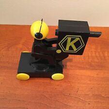 1954 KRAFT TV THEATRE CAMERAMAN Mascot Pull Toy Original Velveeta Mail Premium