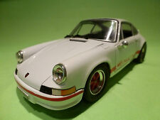 JOUEF PORSCHE 911 CARRERA RS 2.7 - WHITE + RED 1:18 - IN GOOD CONDITION