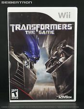 Transformers The Game 2007 Movie Video Game Nintendo Wii Activision