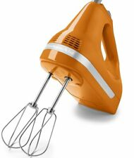 KitchenAid Digital hand mixer 9 Speed R-khm9TG Tangerine Color Very Powerful