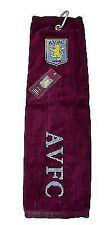 Aston Villa FC Tri-fold Towel Claret Football Team Sports Gym Club Soccer