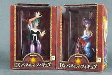 Banpresto Capcom Vampire Savior Morrigan Lilith Panel figure Set of 2