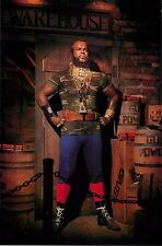 """Mr. T Be There 4x6"""" Postcard Movieland Wax Museum"""