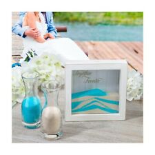 Wedding Sand Ceremony Shadow Box Frame Blended Family Unity Set Kit Supplies