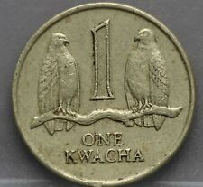 ZAMBIA - one 1 kwacha 1989 - KM# 26