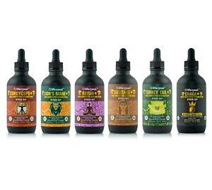 Life Cykel - Mushroom Liquid Extracts - 60ml and 120ml Droppers