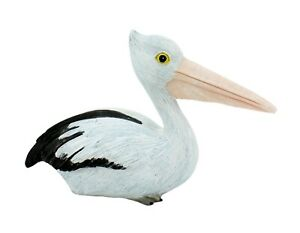 10cm Pelican Ornament outdoor Garden or indoor Figurine Beach Bird Statue