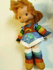 """Vintage Rainbow Brite Hallmark 1983 Doll Plush Plastic 18"""""""
