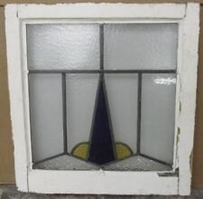 """Old English Leaded Stained Glass Window Magical Abstract 20.75"""" x 21.5"""""""