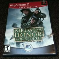 Medal of Honor: Frontline (Greatest Hits) - Playstation 2 PS2 Game - Complete