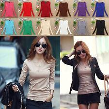 Waist Length Cotton Blend V Neck No Tops & Shirts for Women