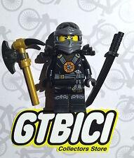 LEGO NINJAGO MINIFIGURA  `` COLE ´´   Ref 70734  ORIGINAL LEGO 100x100