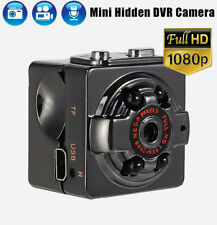 Mini 1080P HD Hidden Camera DVR Day/Night Vision Motion Activated 32GB SAFTY LED