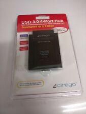 Cirago USB3.0 4-Port Hub With Dedicated Smartphone and Tablet Charging USH3000